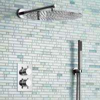 Ensemble de douche murale à 1 ou 2 voies