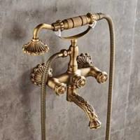 Ensemble de douche antique