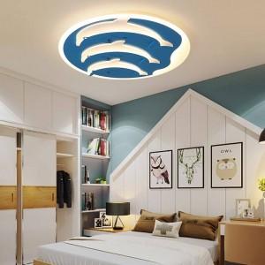 plafonniers pour enfants pour gradateur de chambre d'enfants ou interrupteur contrôle plafonnier moderne pour 10-15 mètres carrés de plafondlamp