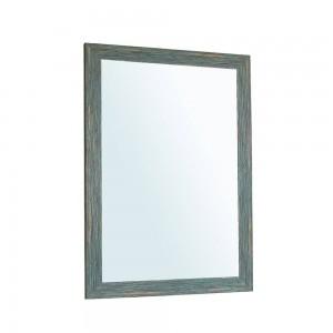 A1 Bleu rétro miroir de salle de bain suspendu salon sanitaire toilette miroir de maquillage wx8221506