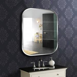 A1 sans cadre carrée miroir de salle de bains toilette coiffeuse lavabo miroir chambre miroir suspendu miroir wx8230936