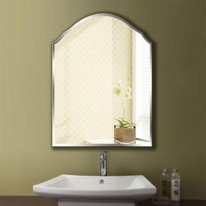 A1 Simple sans cadre miroir miroir Tenture murale Chambre Salle De Bain Toilette Maquillage dressing Miroir Miroir wx8231035