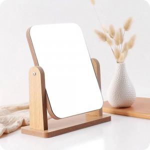 A1 En bois maquillage miroir bureau vanité miroir chambre beauté princesse miroir portable miroir de bureau wx8291750