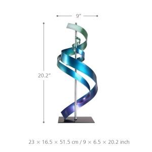 Abstrait Ornement Fer Sculpture Art Décor À La Maison Moderne En Métal Sculpture Table & Bureau Bureau Décor Contemporain Sculpture