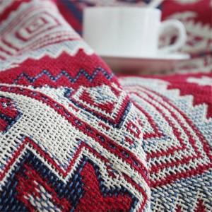 Sumino américain Throw Blanket Décoratif De Noël Cobertor Red Manta Para Canapé / Lits Voyage Plaid Couvertures De Couture Antidérapantes