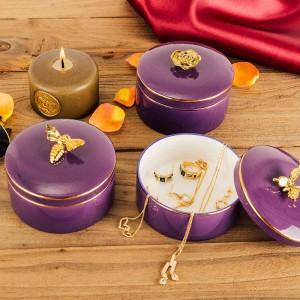 Abeille Boîte à bijoux Collier Bague Bague De Rangement Boîte De Rangement Pour Bracelet Européen Cadeaux Petite Amie