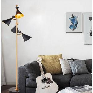 Lampadaire LED moderne américain lumière debout salon étage hôtel éclairage chevet lampadaire E27 ampoule LED par DHL