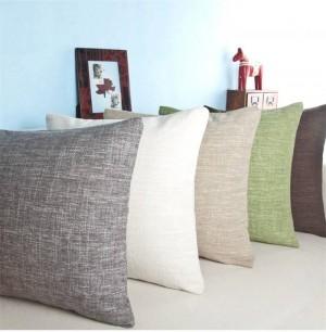 Coussin d'oreiller classique canapé coussins solides chevet de luxe assurance de qualité sans noyau Cojines, 33x50 / 45x45 / 60x60cm