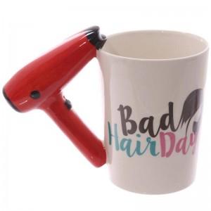 Creative 3D Peint À La Main En Céramique Tasse En Céramique Sèche-Cheveux Poignée Tasse À Café Tasse En Céramique Tasses Utilisé Pour Tenir Le Lait De L'eau Café Etc