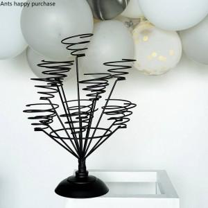 Macaron Creative présentoir Maison Décorations festival de mariage Organiser Coupe du gâteau rack Wire frame cristmas décoration