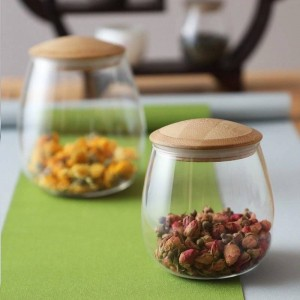 Creative Mason Jar Spices Bocaux en verre Borosilica avec couvercle scellé Cuisine Bouteille De Stockage Café Sucre En Vrac Conteneur De Bonbons Canettes