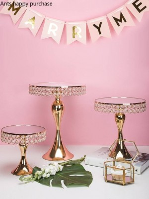 Creative nordique style fer de mariage tasse plateau de gâteau Dessert plateau de fruits plat de fruits présentoir Décoration gâteau décoration outils