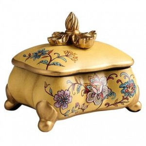 Stockage créatif de bijoux boîte décorative maison salon décorations affichage cadeau d'anniversaire