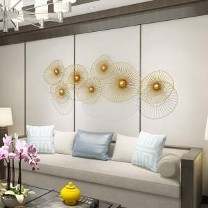 Personnalisé New Light Décoration murale de luxe Maison créative Tenture murale Sofa Décoration de fond