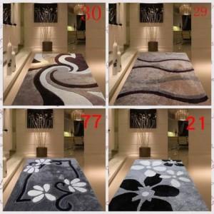 Épaississement crypté brillant soie salon table basse chambre tapis moquette simple moderne tapis de style nordique