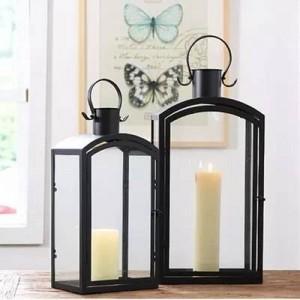 Européen moderne minimaliste en plein air chandelier décoration jardin étage lampe à vent accessoires de mariage modèle chambre décoration