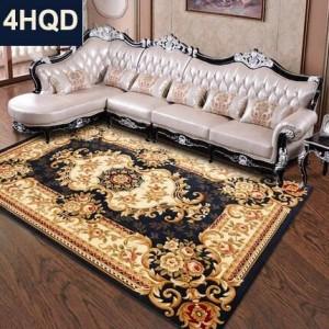 Canapé de salon de style européen canapé tapis tapis nouvelle fleur à la main cryptage épaissie couverture de lit chambre