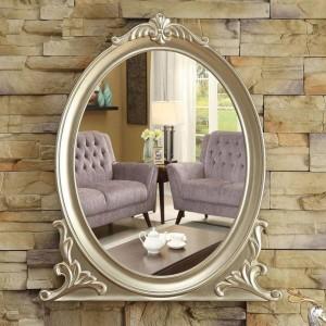 Tenture murale européen salle de bains miroir salle de bains maquillage miroir décoration porche chambre vanité miroir wx8231352