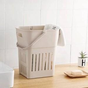 Extra-large en plastique panier panier à linge sale paniers de rangement panier à vêtements salle de bain mis boîte à jouets baril à linge