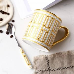Tasse en os français de haute qualité Tasse à café européenne