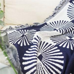 Géométrie Secteur Couverture de jet Canapé Housse de protection Cobertor Décorations de Noël Maison Couvertures à coudre antidérapantes