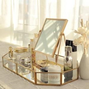 Miroir doré miroir princesse miroir miroir net beauté rouge à envoyer cadeau petite amie