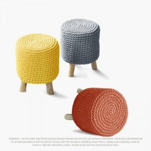 Handmade Creative Moderne Enfants En Bois Tabouret Tabouret Chaise Salon Décoration Pour Enfants 1
