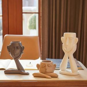 Décor à la maison Resinas Planas Creative style nordique décorations douces chambre petits ornements moderne minimaliste salon maison vin