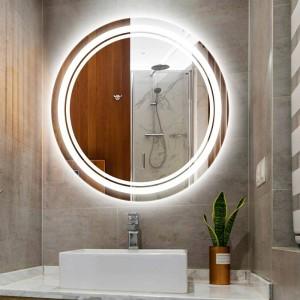 Maison ronde led maquillage miroir lumière lampe murale IP54 étanche salle de bains chambre d'hôtel WC Miroir Led lumière Led luminaires muraux