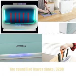 Machine de désinfection de couteaux de cuisine pour stérilisateur de planche à découper à index UV électrique IRIVER BLANK, planches à découper 3pcs pour la maison