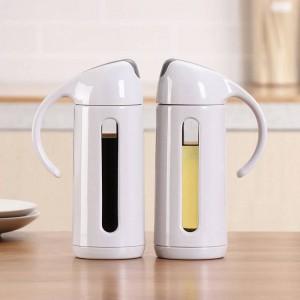 Produits de cuisine Bouteille d'huile en verre Huile de ménage étanche aux fuites Assaisonnement Sauce soja Vinaigre Distributeur d'huile en bouteille Fournitures de cuisine