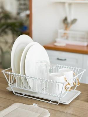 Support de cuisine Baguettes pour assiette de vaisselle Support de rangement pour couteaux à vaisselle Support de séchage