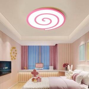 Plafonniers à leds avec cristal en cristal et variateur ou interrupteur de surface blanche pour salon ou chambre à coucher