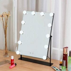 Led maquillage miroir filles blanc bureau grand miroir de courtoisie avec lumières touchent remplir lumière miroir cosmétique miroir dortoir mx01111356