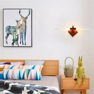Moderne LED Lampes Murales 110V 220V En Aluminium Miroir Phare Chambre Salon Mur Lumières Couloir Éclairage Intérieur Décoration