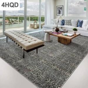 Encre abstraite moderne minimaliste canapé table basse tapis géométrie accueil couverture de lit en laine chambre à coucher style nordique Europe et Amérique