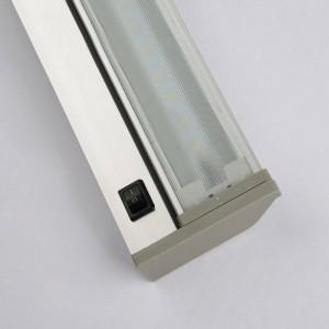 Miroir moderne lampe lampe murale étanche 48cm 61cm haute qualité monté sur la salle de bains AC85V-240V entrée blanc 6000K blanc chaud
