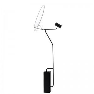 Abat-jour en acrylique blanc moderne simple lampe debout led lampe plancher lumière hall lecture chambre bureau maison LED éclairage luminaire
