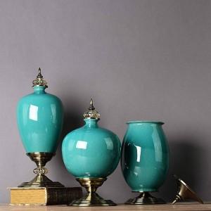 Décorations néo-classiques modernes en céramique minimaliste en céramique à la maison