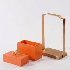 Nouveau Style Simple Moderne Moderne Boîte De Rangement Décoration Modèle Chambre Creative Boîte à Bijoux Salon Maison Doux Ameublement
