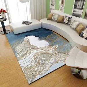 Nordic Carpet Salon Moderne Simple Tapis De Table De Thé Personnalisé Net Rouge Chambre Chambre Plein De Tapis