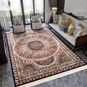 Tapis persan classique de style européen nordique palais européen turque importé salon table basse ménage rectangle