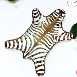 Peau de tigre nordique modèle bague en céramique collier collation plateau de rangement cosmétiques créatifs stockage de bureau ornements décoratifs