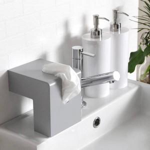 Boîte à mouchoirs nordiques Creative Container Design Plastic Home Salle de bains Serviette en papier Conteneur en papier Serviette en papier Serviette Case Home Decor