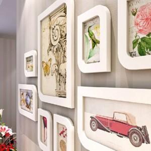 Cadre photo combinaison cadre cadre mode cadre photo cadre en laine boîte décoration de mariage décoration cadeau