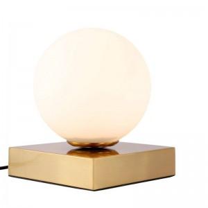 Post Moderne LED Lampe De Table E14 lampe creative Blanc abat-jour lampe de table lampe simple lumière lampes de bureau personnalité décoration