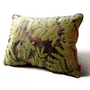 Rainforest feuilles 3D housse de coussin vert Capa De Almofada avec impression Shabby Chic Home Decor décoration Cojines, taille personnalisée
