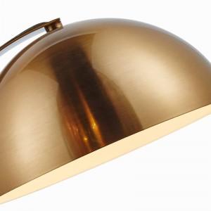 Lampe de table simple moderne or plaque en métal couleur lampe de bureau Décoration Lampe creative E27 3W led ampoule Nordic Light