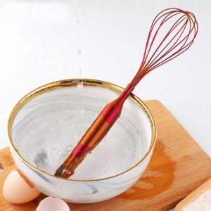 Batteur À Oeufs En Acier Inoxydable Batteur À Mixte Fouet Crème De Cuisson Farine Agitateur Gâteau De Cuisine Outil De Cuisine Accessoires de Cuisine