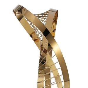Quatre Saisons Statue Ornement Moderne Sculpture Figurine Abstraite à l'Hôtel et Club Artisanat Décoration Décoration Accessoires
